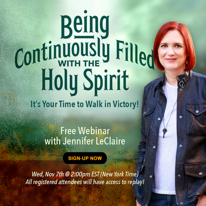 Being Continuously Filled with the Holy Spirit