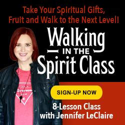 Walking in the Spirit class